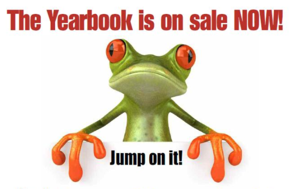 Yearbook is on Sale