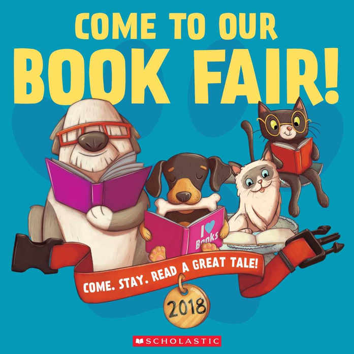 This is the image for the news article titled PVES Spring Book Fair is April 9-14 / Feria del Libro es Del 9 – 13 de Abril 2018